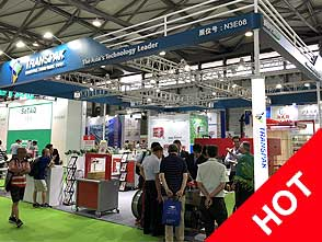 Numerous industry expertise visiting Transpak stand @ ProPak China