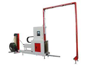 Enhanced Side-Seal Vertical Pallet Strapping Machine – POLLUX III TP-733VLM