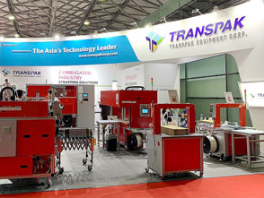 Transpak showed total strapping solution for corrugated industry at SinoCorrugated 2019