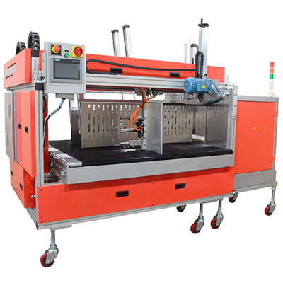 TP-702CTRS High Speed Strapper for Specialty Folder Gluer Boxes